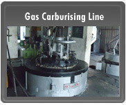Gas Carburising Line